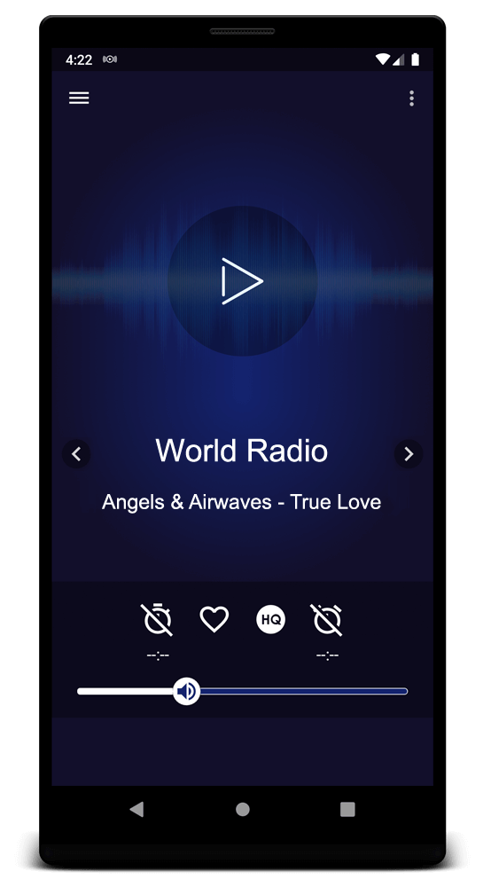 Your favourite online radios on your Android