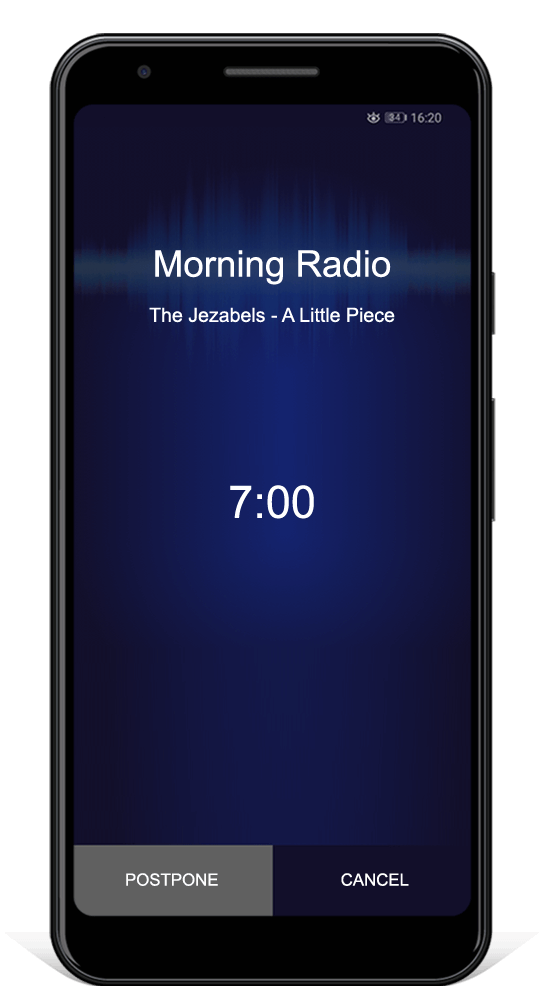 World Internet Radio alarm